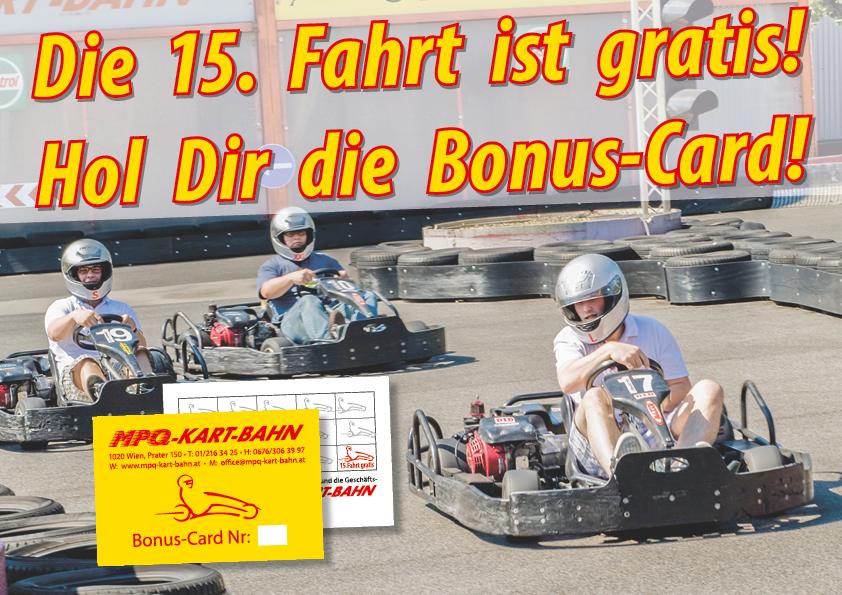Bonuscardplakat MPQ Kart BAHN